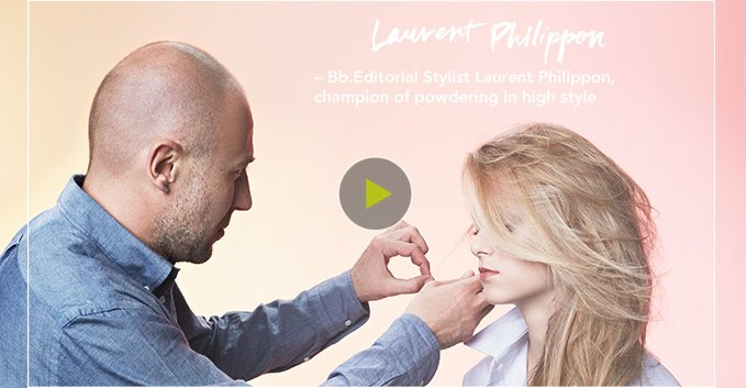 Laurent Philippon, champion of powdering in high style