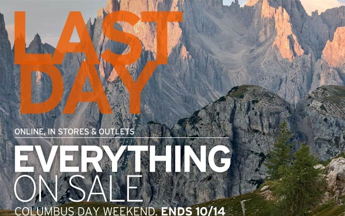 Last Day! Everything On Sale