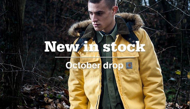 New in Stock - October drop