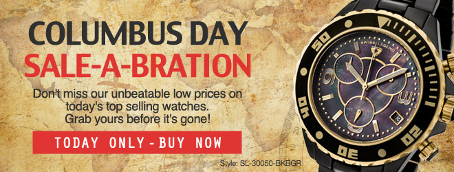 Columbus Day Sale-A-Bration