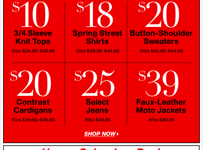 FREE SHIPPING + Monday Doorbusters Extended Online!
