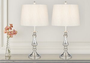 Mixed Metals: Table Lamps