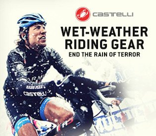 Castelli Wet-Weather Riding Gear