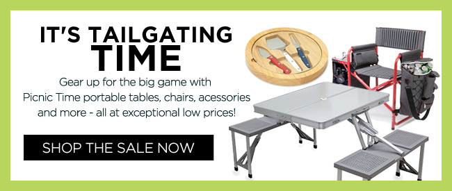 New Arrivals: Patio, Tailgate and Picnic