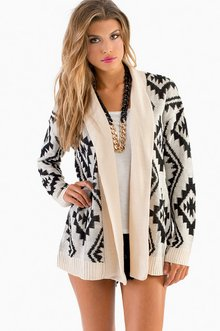 TOTAL TRIBAL CARDIGAN 47