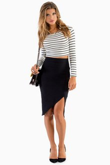 HIGH ALTITUDES PENCIL SKIRT 25