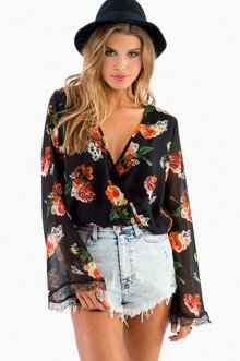 WOULDN'T MIND BELL SLEEVE TOP 37