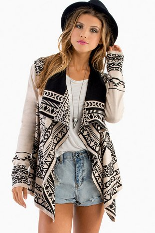 NATIVE LINES CARDIGAN 47
