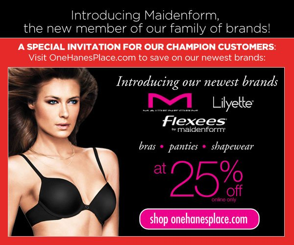 SHOP Maidenform