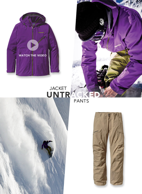 Patagonia Untracked Jacket and Pants