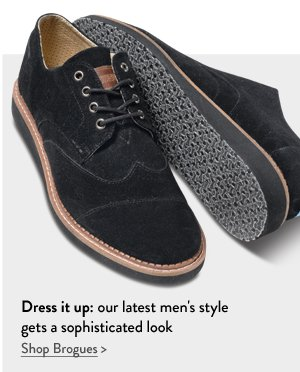 Dress it up: our latest men's style gets a sophisticated look
