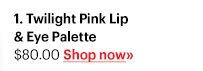 Twilight Pink Lip & Eye Palette, $80 Shop Now »
