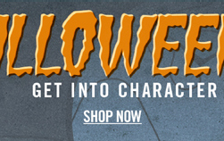 IT'S HALLOWEEN TIME - SHOP NOW