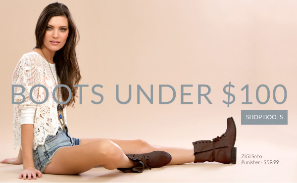 Shop Fall Boots Under $100