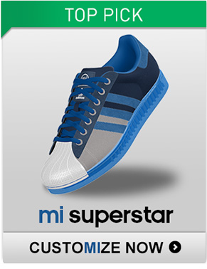 Customize the mi Superstar Shoes »