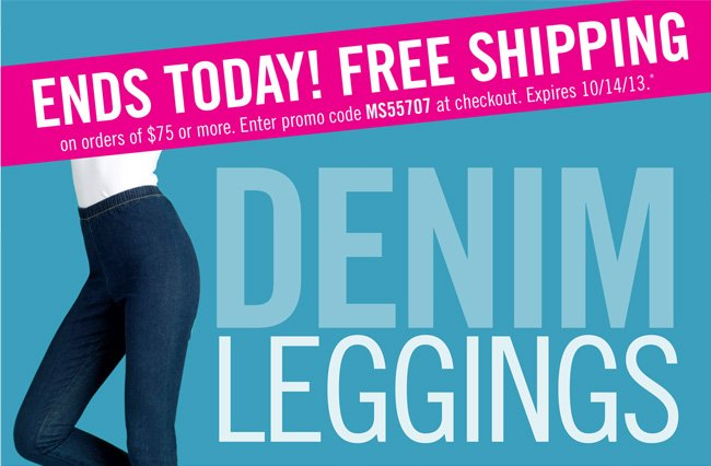 Free Shipping on your $75 order ends today