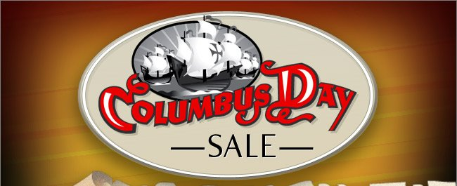 Columbus Day Sale - Free Shipping on All Online Orders Over $20* - Shop Through This Email!