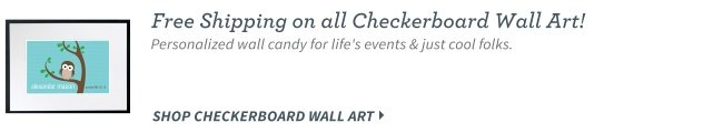 Checkerboard Wall Art