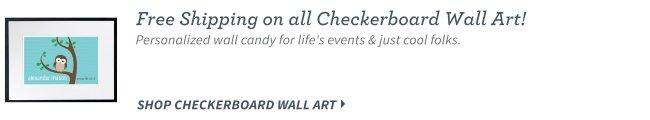 Checkerboard Wall Art