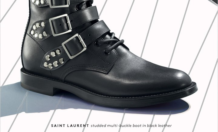 The boots of the season have arrived. Shop Saint Laurent now.