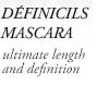 DEFINICILS MASCARA | ultimate length and definition