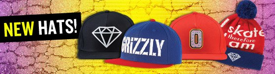 TOns of New Hats