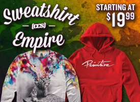 Sweatshirt Empire! Starting at $19.99