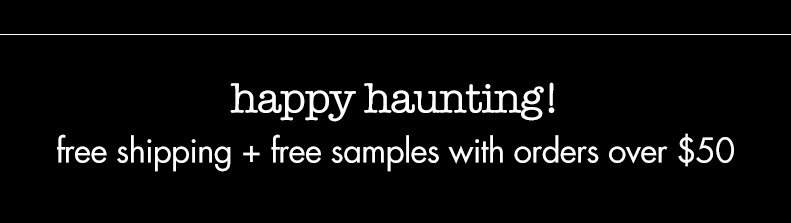 happy haunting! freeshipping with orders over $50