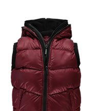 Double Hooded Gilet