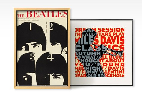 A HARD DAY'S NIGHT, 1964; DREAM SESSION : THE ALL-STARS PLAY MILES DAVIS CLASSICS