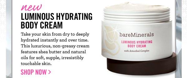 Non-greasy, nourishing cream