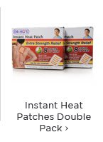 Instant Heat Pack Double Pack