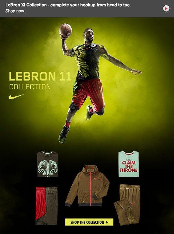 Nike Lebron Collection