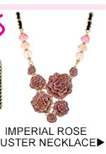 Shop Imperial Rose Cluster Necklace