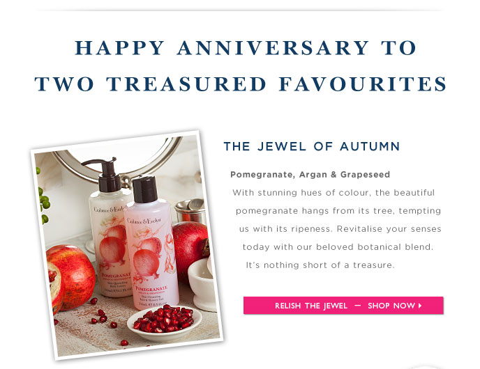 Shop Pomegranate, Argan & Grapeseed Online.