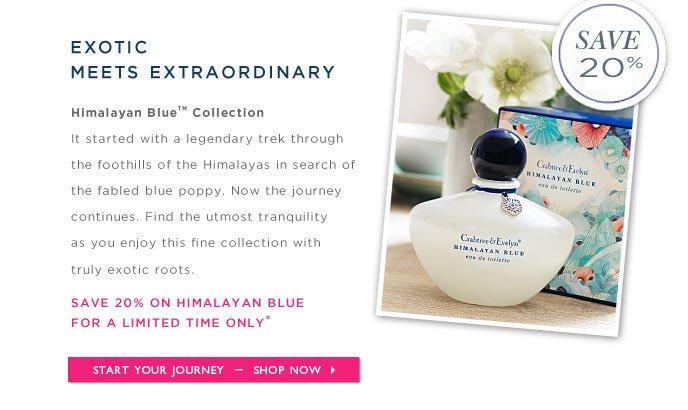 Shop Himalayan Blue Online - 20% Savings.
