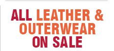 All Leather and Outerwear on Sale