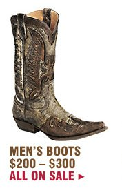 Mens Boots 200 to 300 on Sale