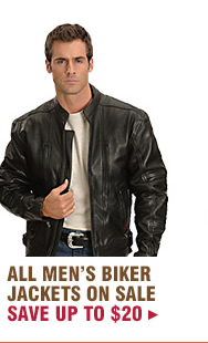 All Mens Biker Jackets on Sale