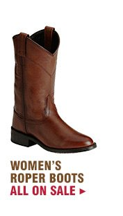 Womens Roper Boots on Sale