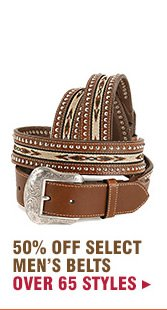 Select Mens Belts on Sale