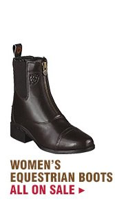 Womens Equestrian Boots on Sale