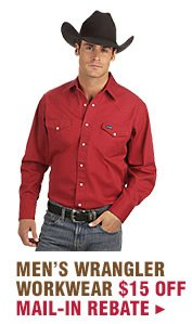 Mens Wrangler Workwear on Sale