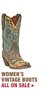 Womens Vintage Boots on Sale