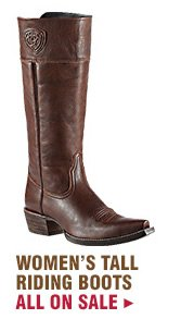 Womens Riding Boots on Sale