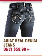 Womens Ariat Real Denim Riding Jeans on Sale