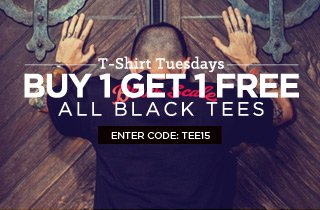 Click to Buy All Black Tees