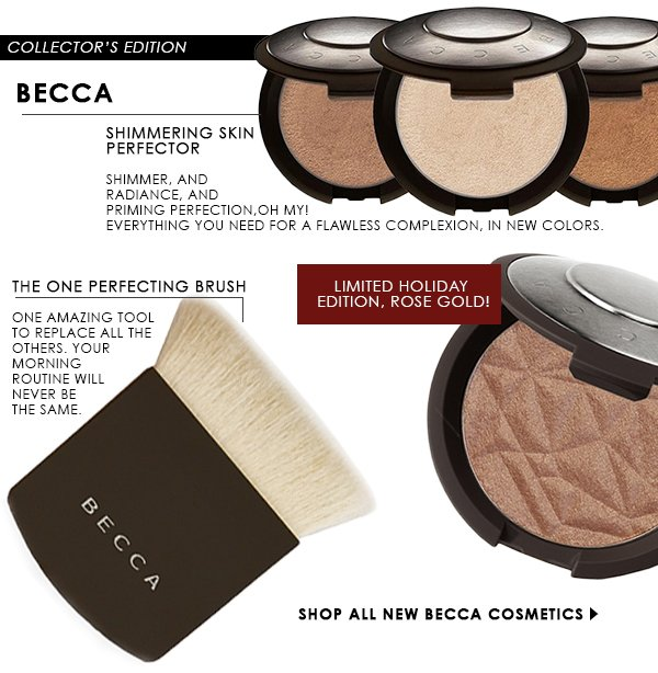 New Becca! Shimmering Skin Perfector, Brush, + Limited Edition
