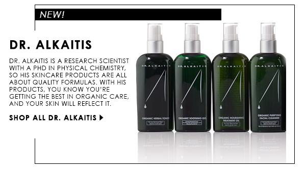 Shop Dr. Alkaitis for organic skincare!
