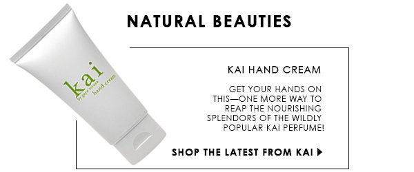 New Kai Hand Cream!